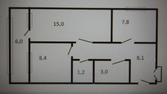 Продажа 2-комнатной квартиры, г. Тольятти, Ярославская  7